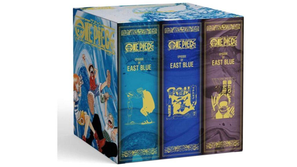 Nouvelle édition du manga One Piece chez Glénat, classée par arcs