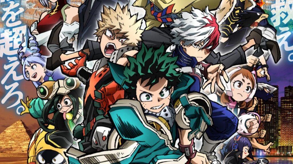 My Hero Academia World Heroes