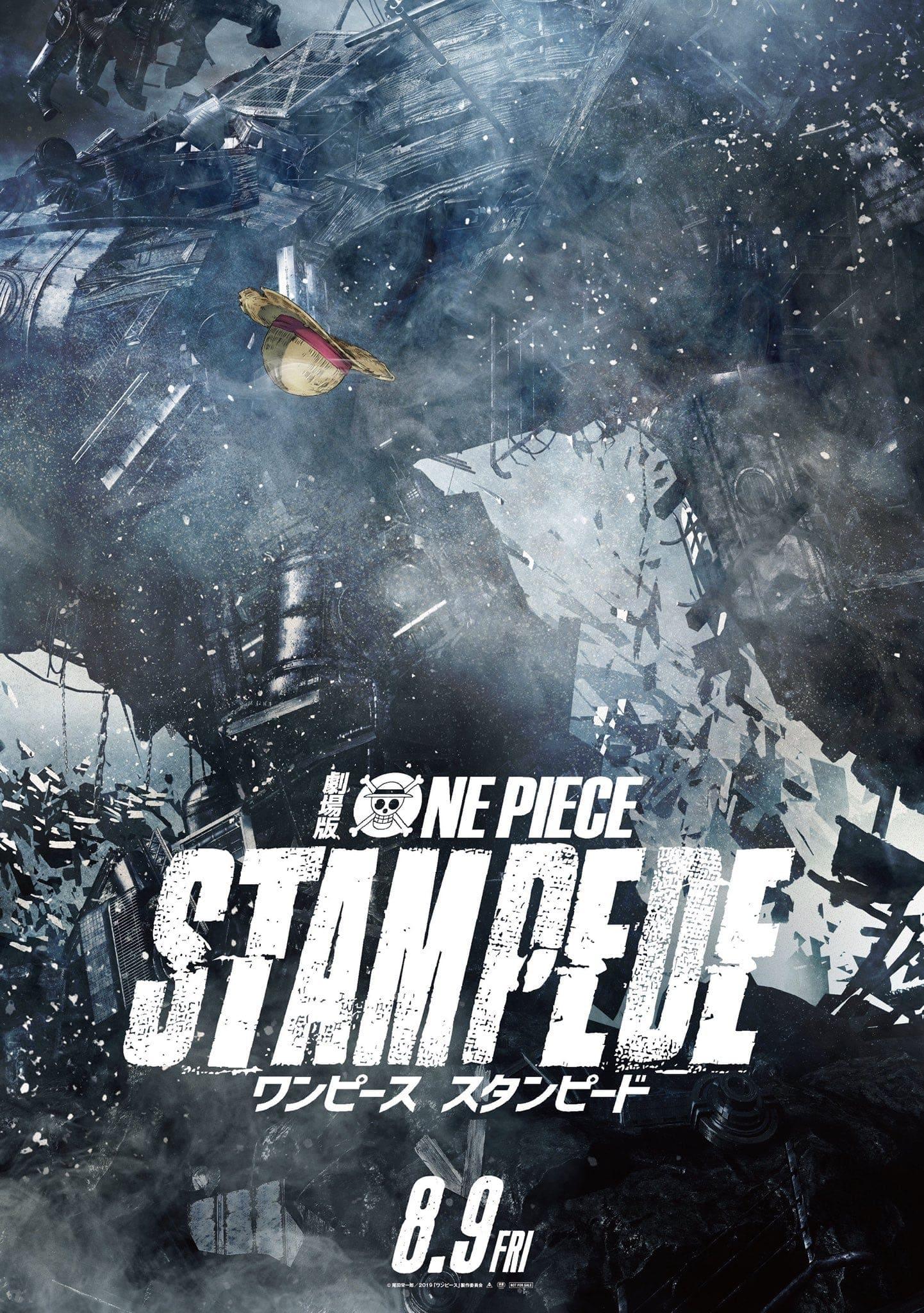 One Piece Stampede Affiche 2