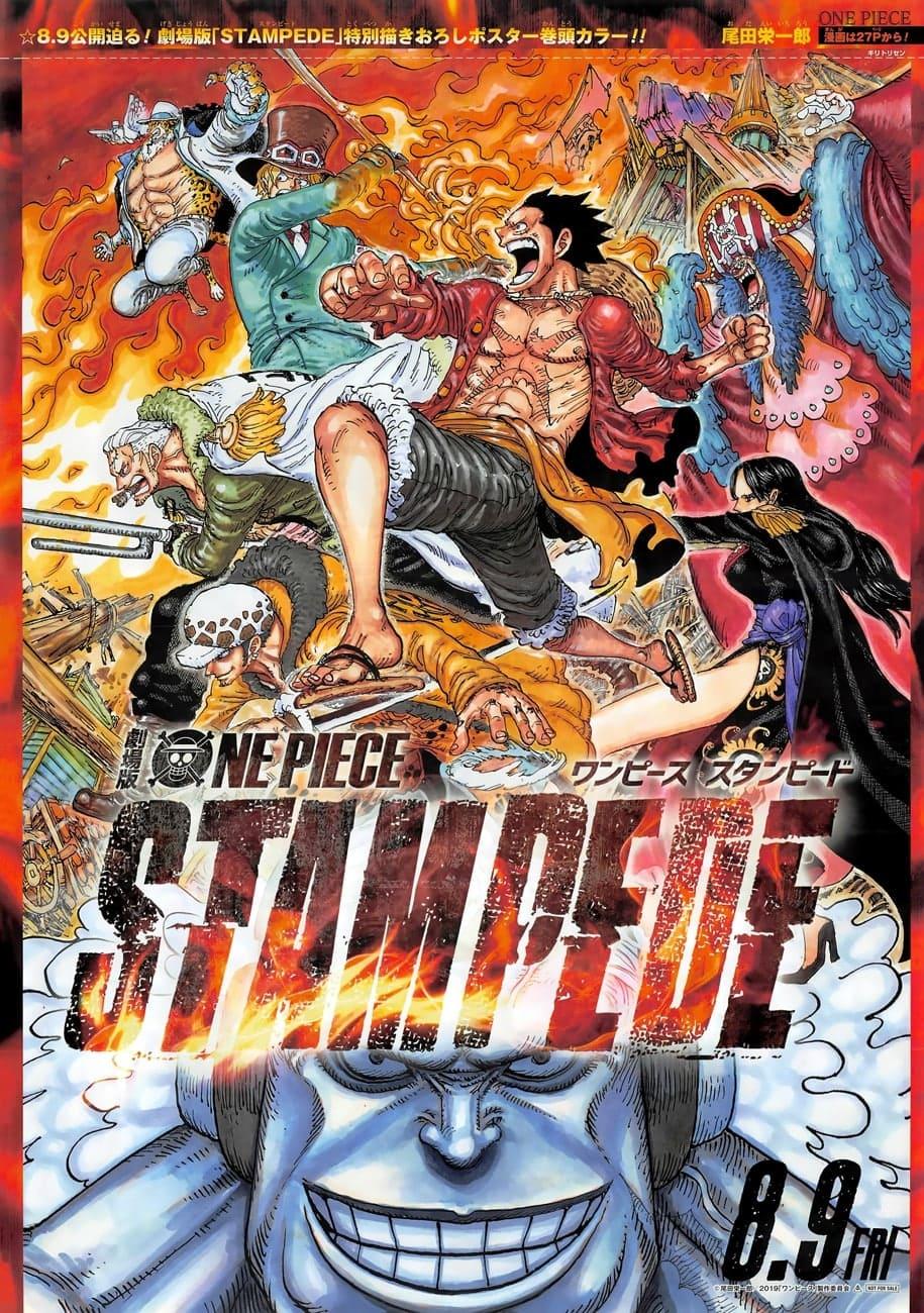 One Piece Stampede Affiche 3