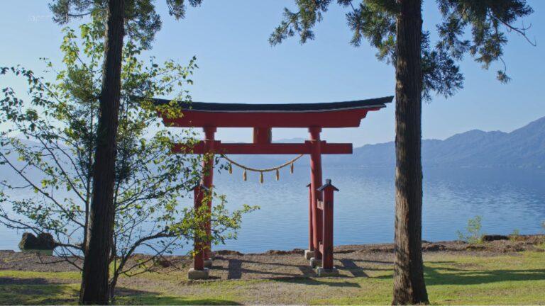 Lac Tazawa une