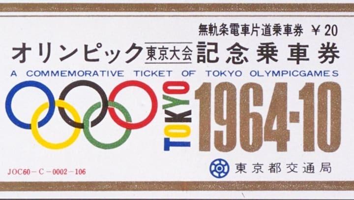 Plaque commemorative JO 1964