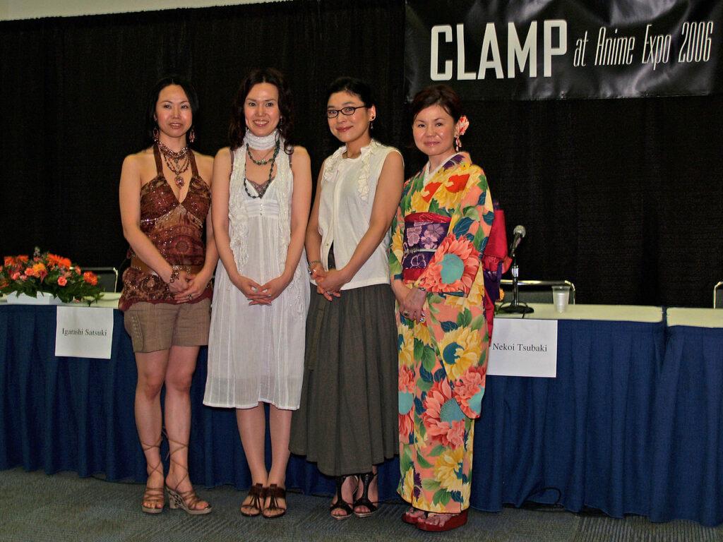 Auteures de Clamp