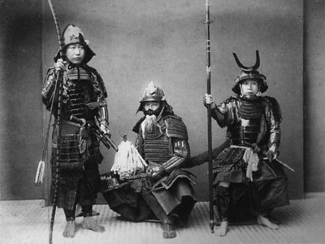 Guerrier Samurai Bushi