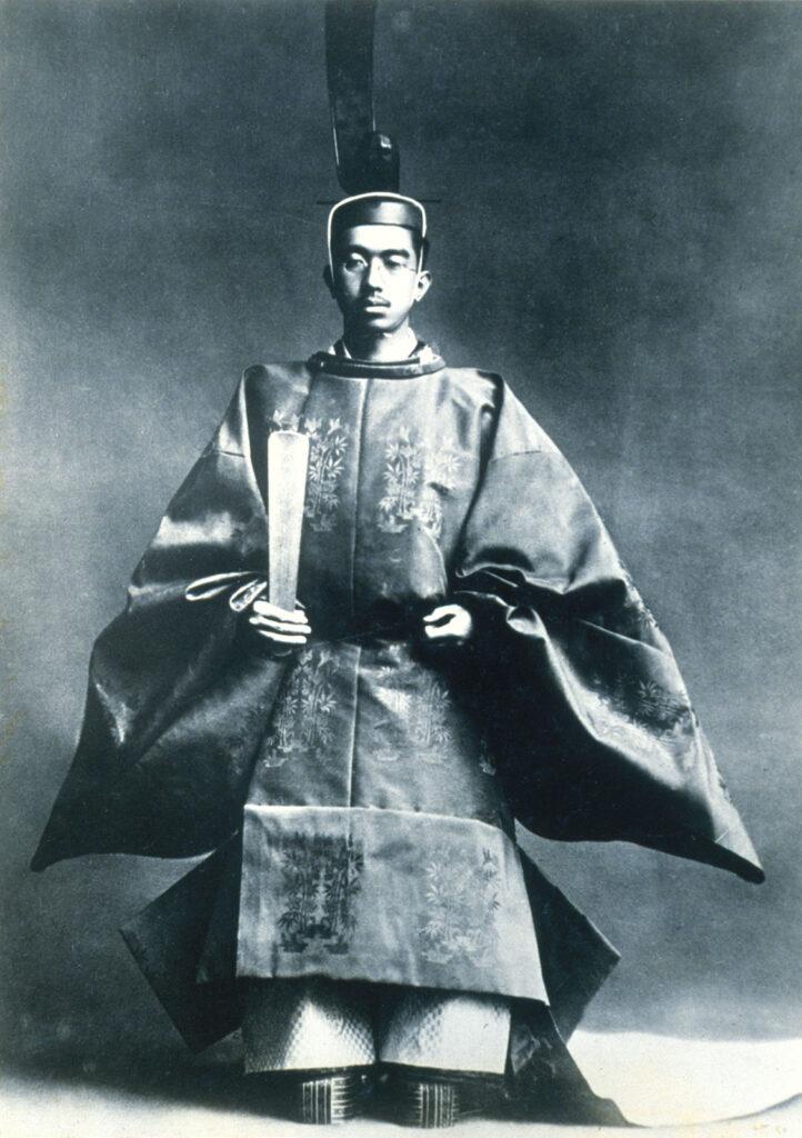 Hirohito lors de sa ceremonie dintronisation en 1926