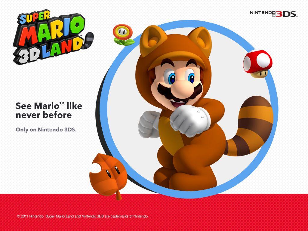Mario en tanuki