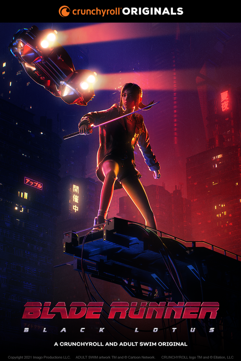 Blade Runner Black Lotus Visuel 1